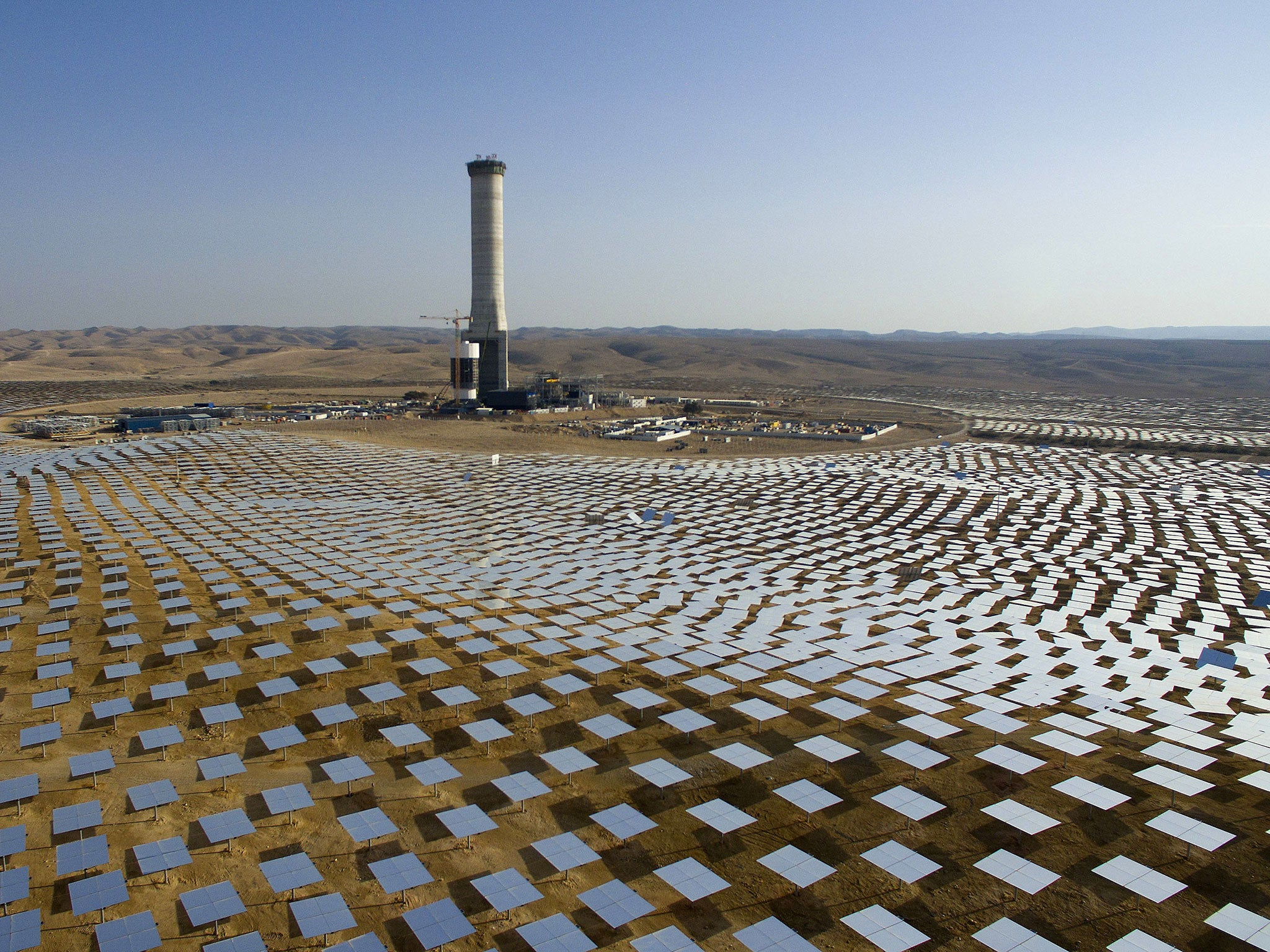 Israel to build world s tallest solar tower in symbol of renewable