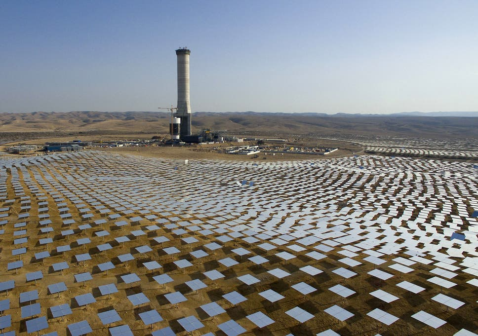 Israel To Build Worlds Tallest Solar Tower In Symbol Of Renewable