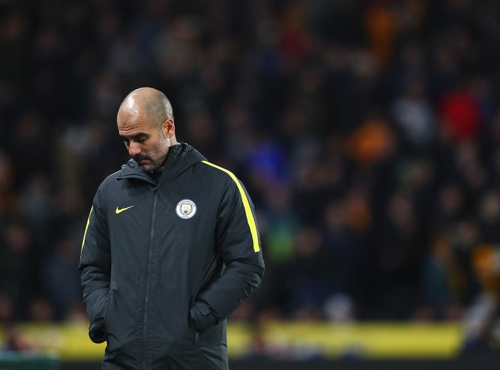 Pep Guardiola and Man City are struggling for form and consistency