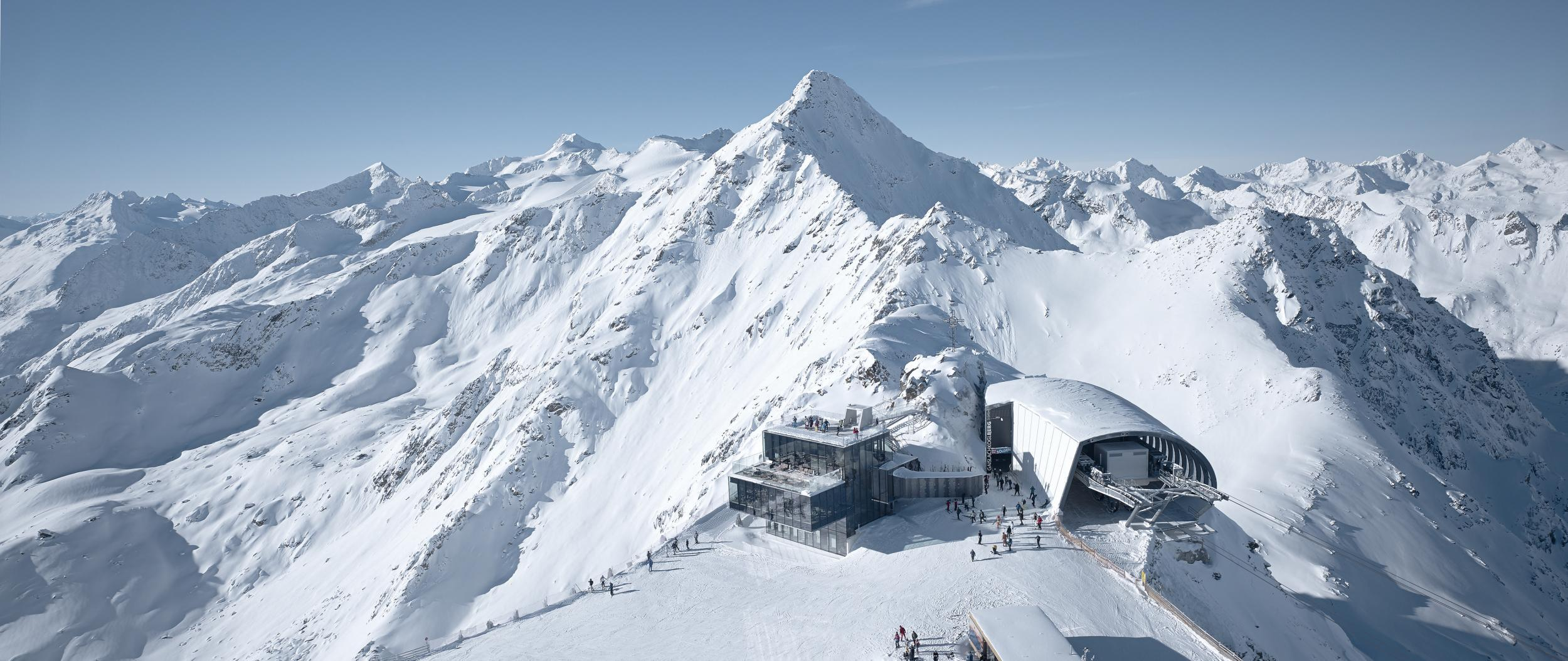 step into the future at europe's 'most hi-tech ski resort' | the