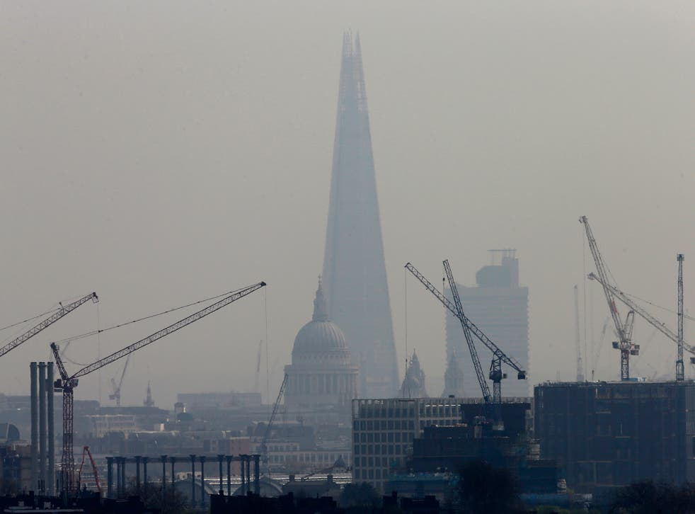 The UK has broken EU air quality regulations every year since 2010