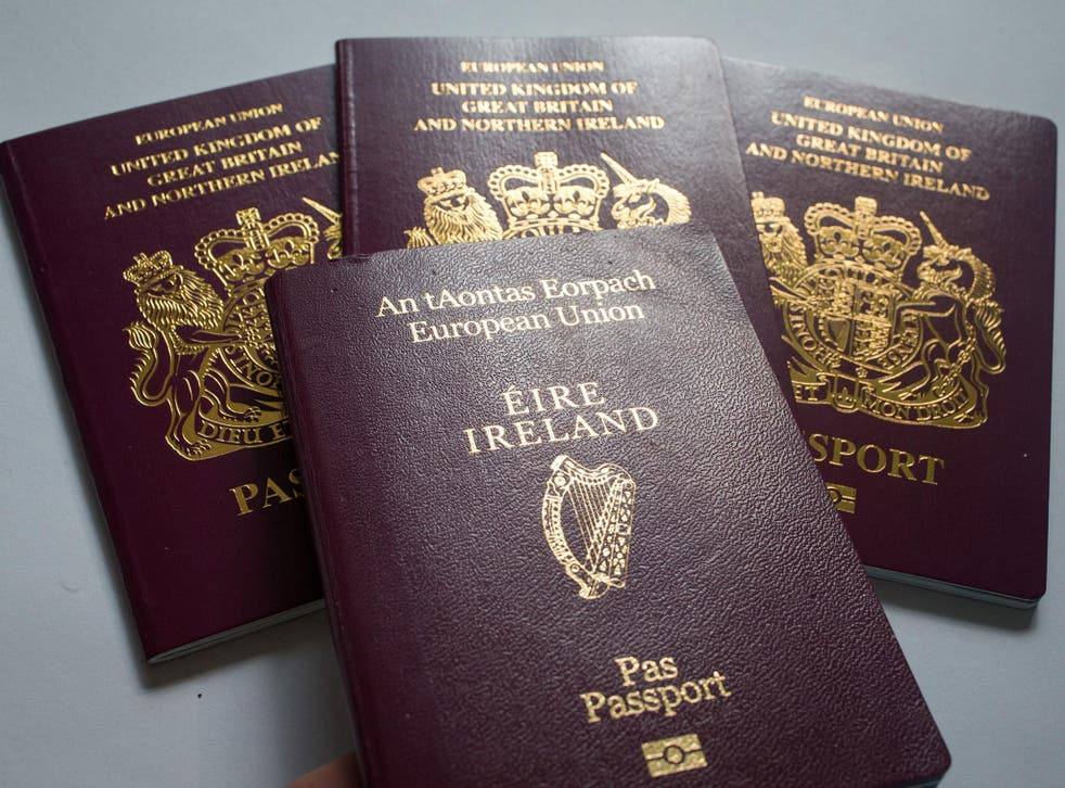 The number of Britons applying for Irish passports has risen by 69 per cent so far in 2017 compared with the same period last year