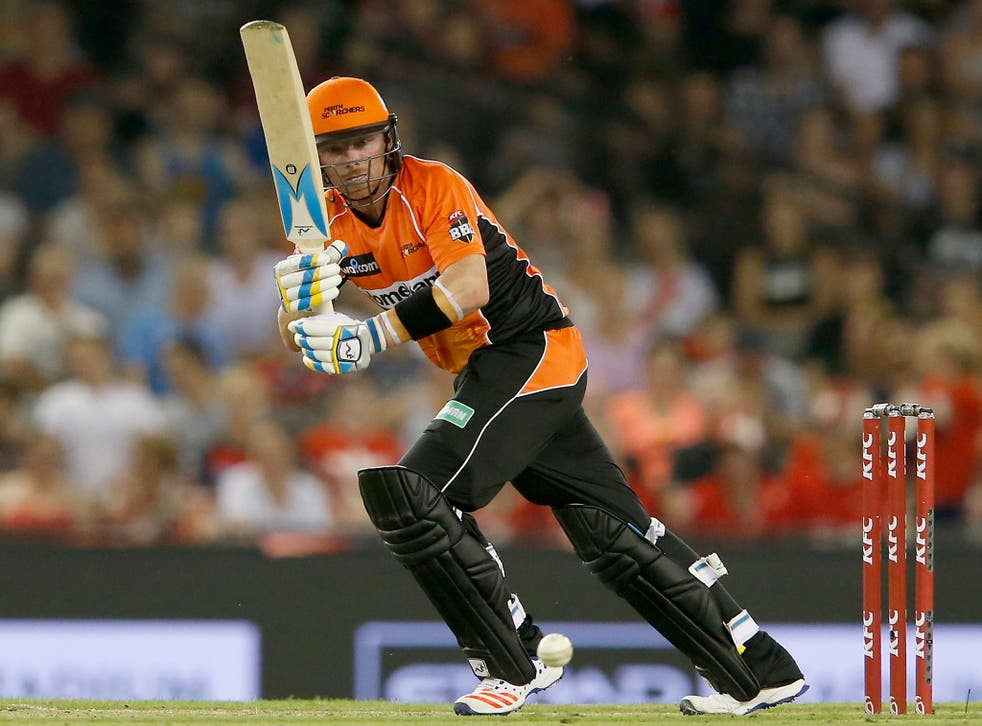 Ian Bell in action for the Perth Scorchers