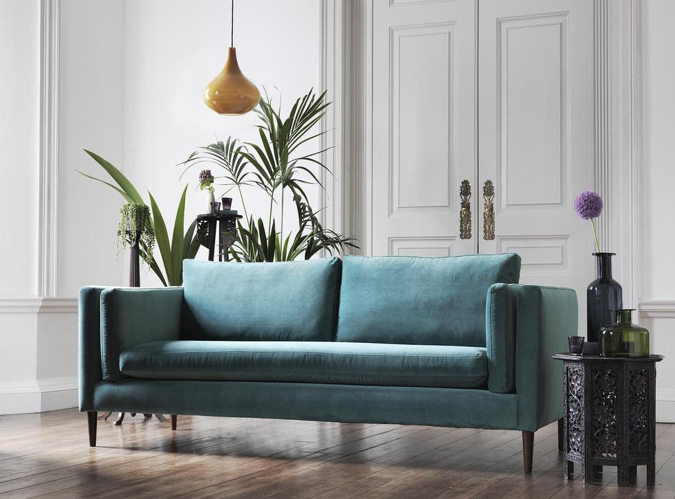Less is more: go for clean lines and statement colours