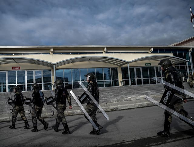 Almost 30 Turkish police went on trial in Istanbul on December 27, 2016 charged with involvement in the July 15 coup bid