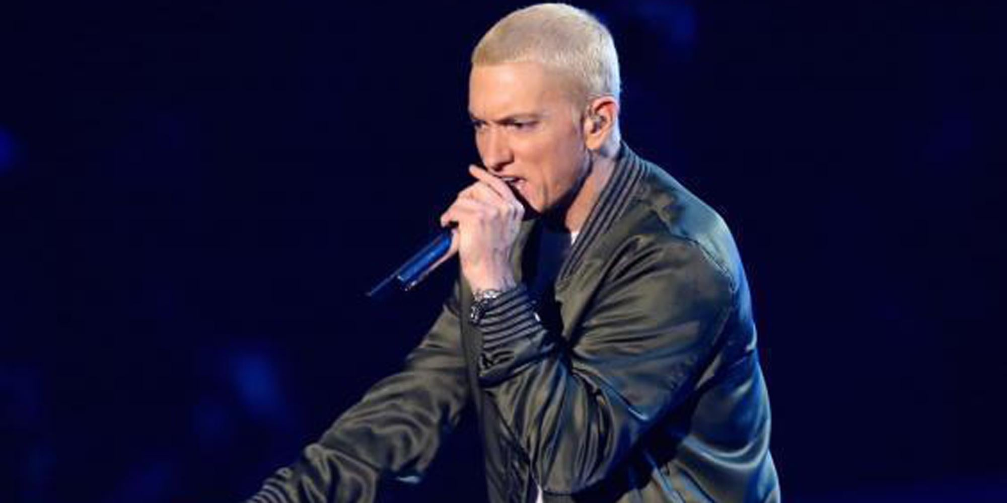 Eminem proves there are lots of words that rhyme with orange