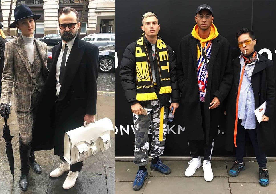 The Best Street Style From London Fashion Week Men S The Independent