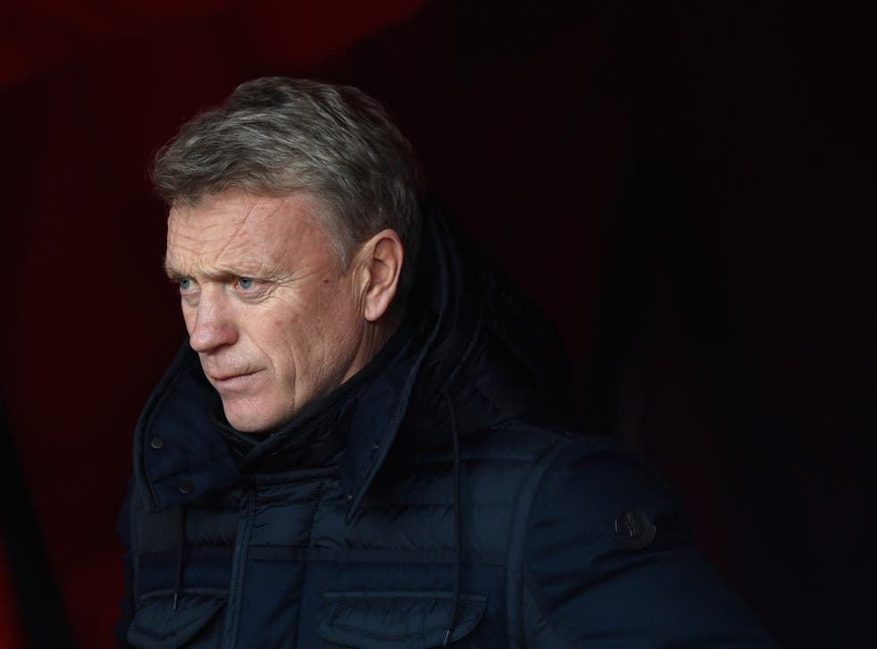Moyes has no money to play with this month as he tries to avoid the drop