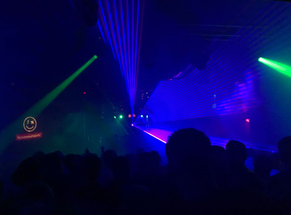 Fabric's reopening party on 6 January 2017