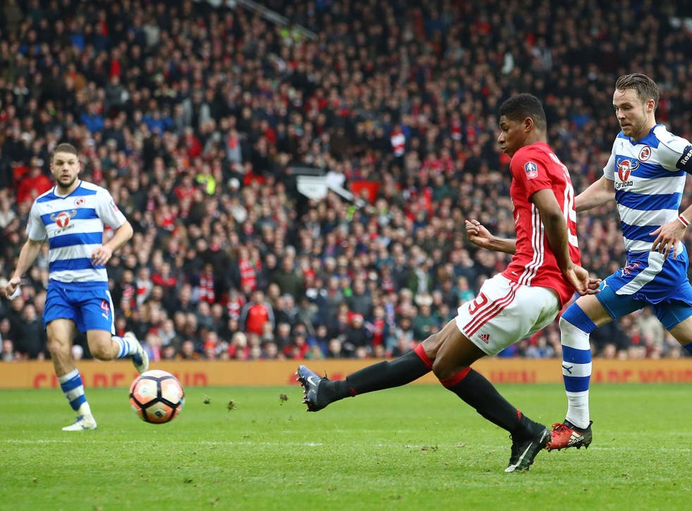 Rashford hadn't scored since September before Saturday's brace