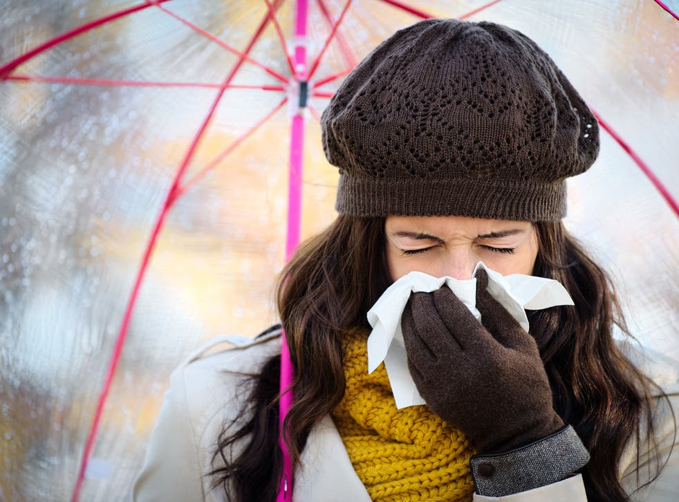 People who catch hacking cough are urged to rest and drink plenty of fluids
