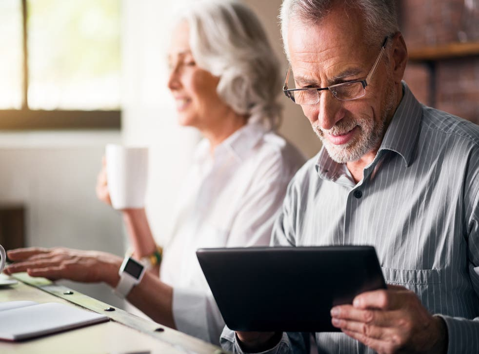 Worth smiling about: Pensioners' incomes are up by 13 per cent since 2008.