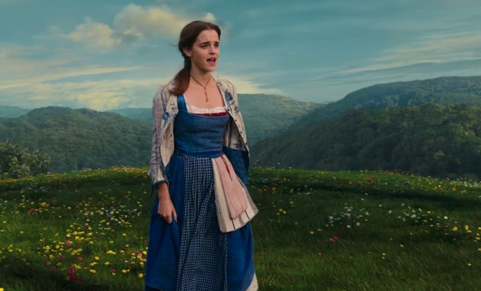 Emma Watson In The Live Action Disney Remake Of Beauty And Beast