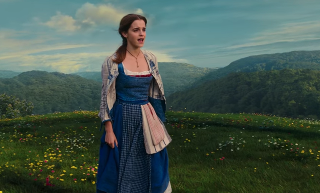 Emma Watson in the live-action Disney remake of Beauty and the Beast