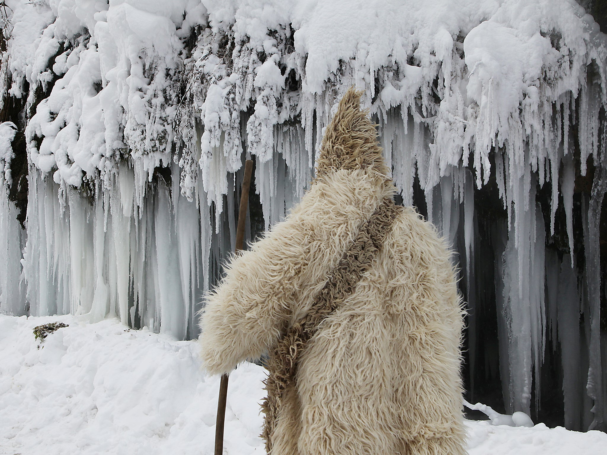 Europe under ice: Pictures show the freezing weather that ...