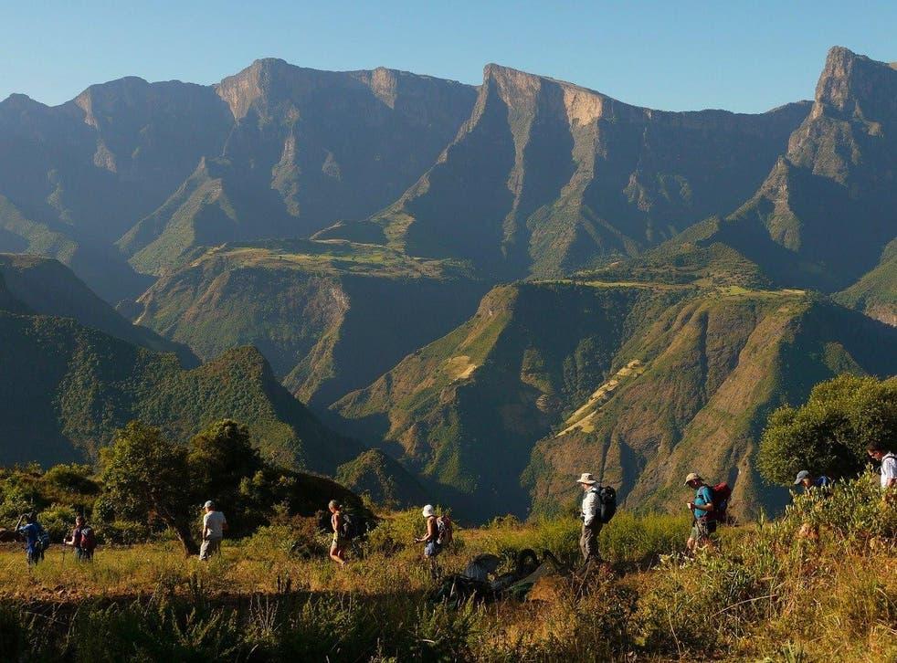 Simien Mountains National Park Save - Amhara Region