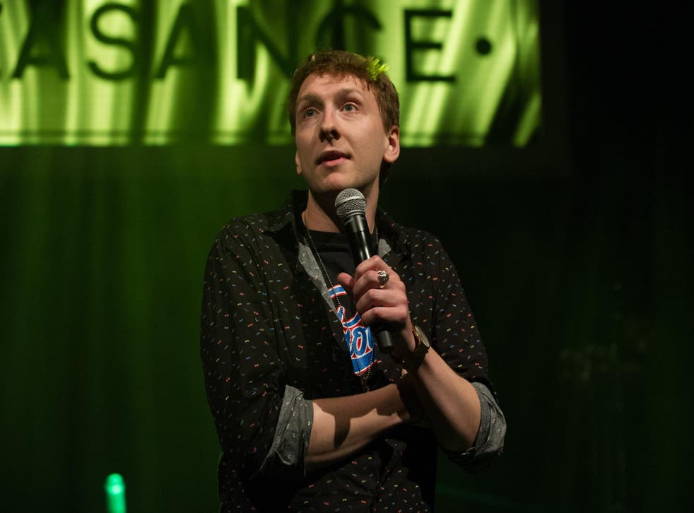 Joe Lycett's 'waspishly sarcastic' suggestion that America is great again was met with laughter