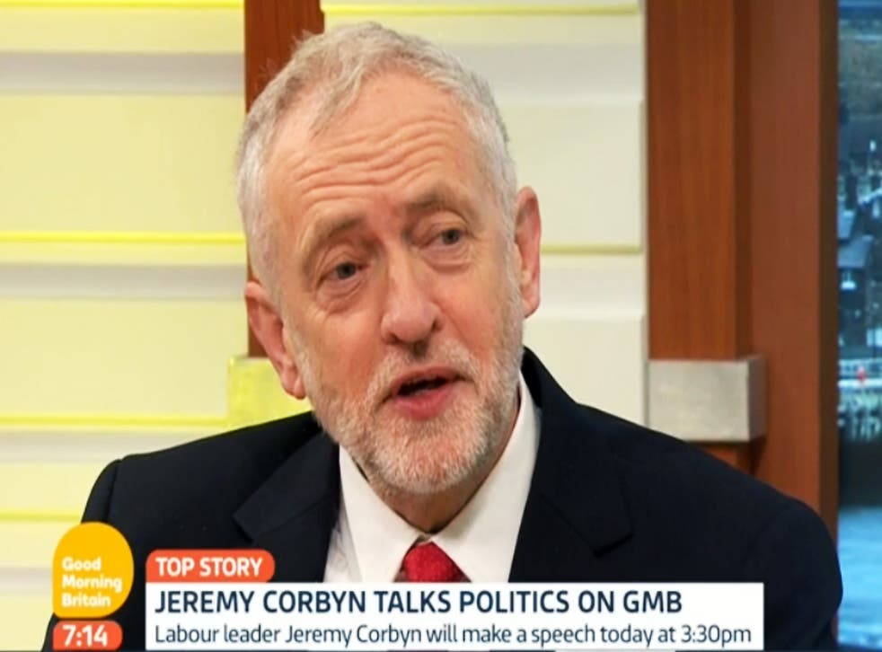 The Labour leader day's began on the GMB sofa before descending into chaos