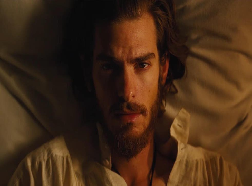 Andrew Garfield stars in Scorsese's movie version of a 1966 Japanese novel