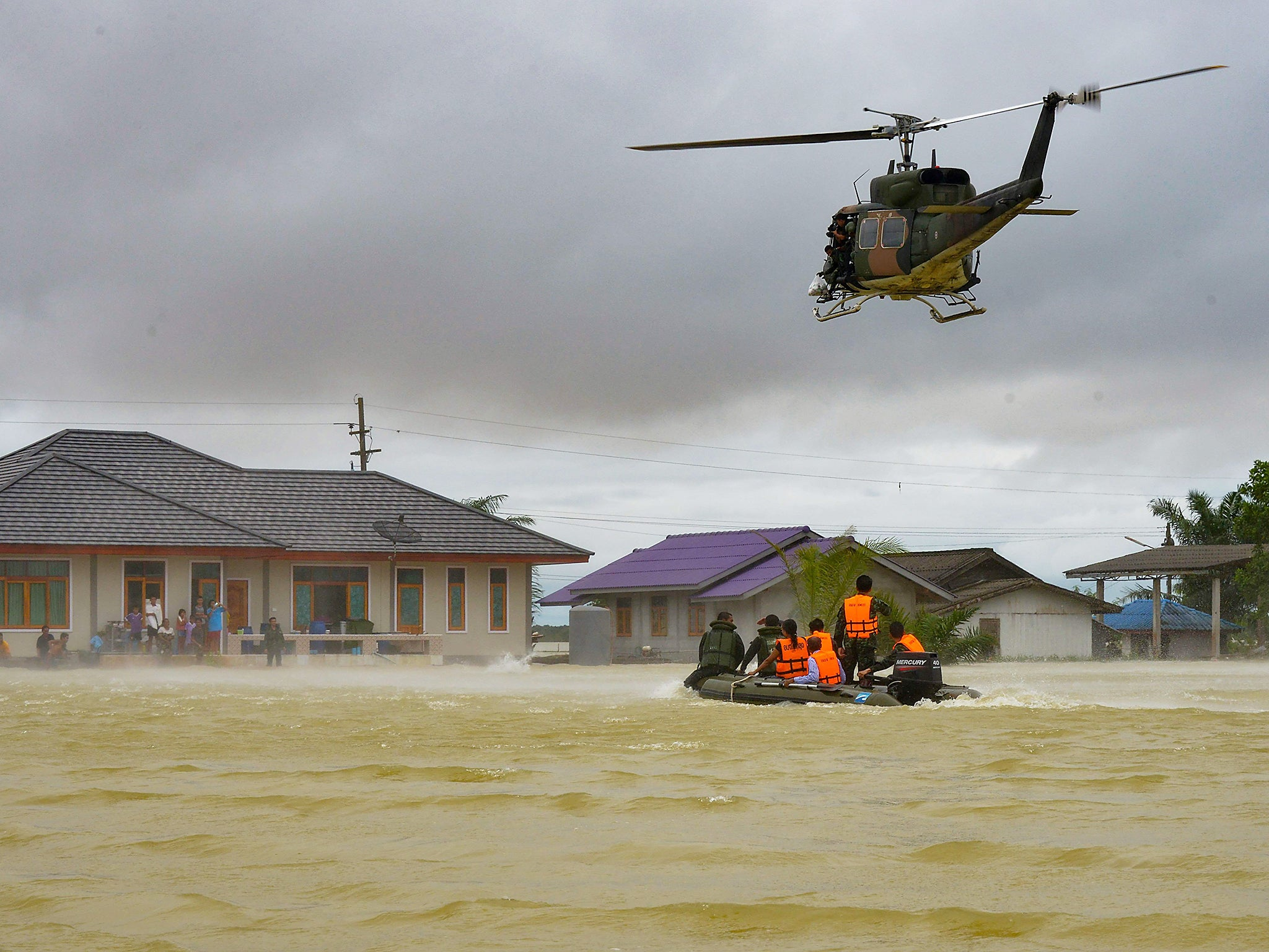 Impact of Flooding - Magazine cover