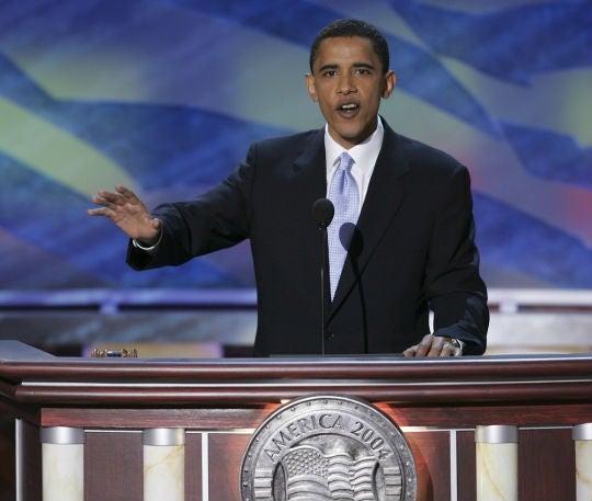 Watch Barack Obama's 2004 keynote speech to Democratic