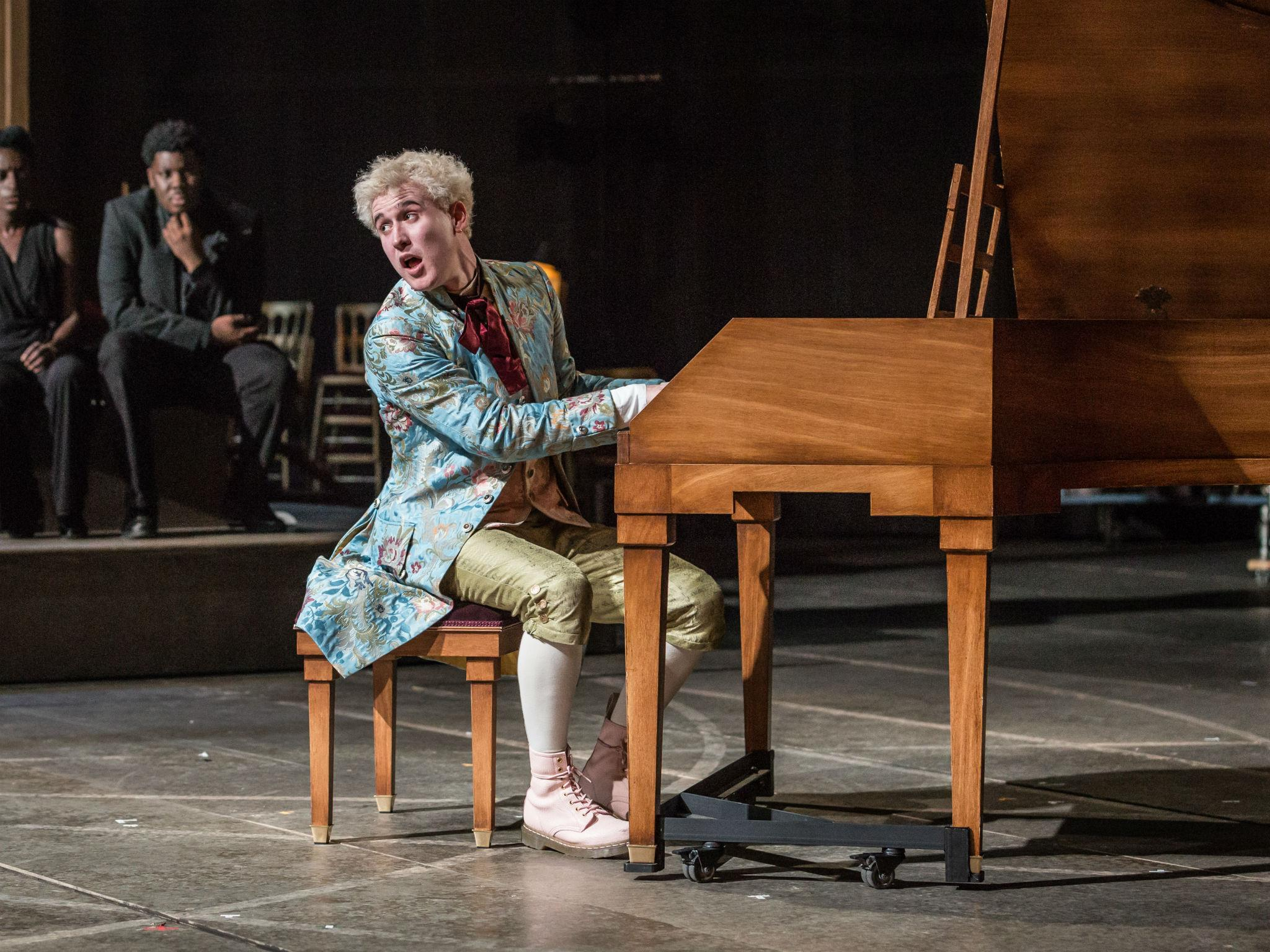 Thumbnail for Amadeus review: Adam Gillen pulls off Mozart with haunting conviction
