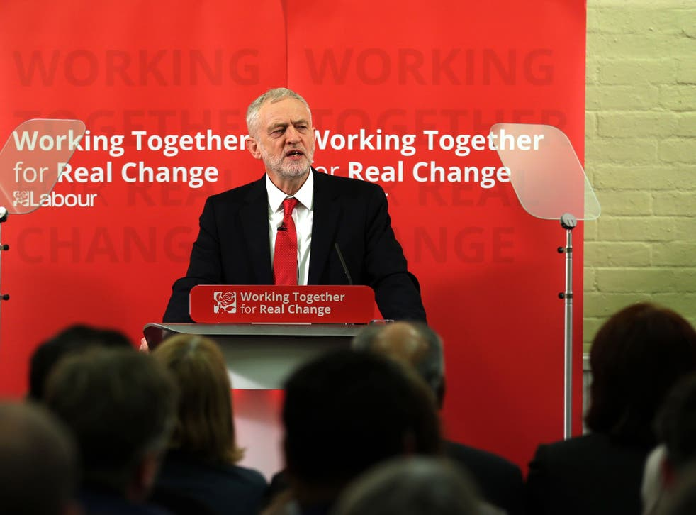 Labour leader Jeremy Corbyn's aides said he 'mispoke' on imposing an earnings limit