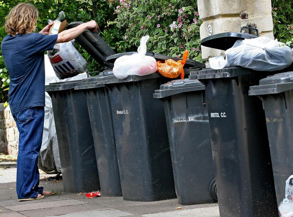 Household food waste in the UK increased by 4.4 per cent between 2012 and 2015, the Waste and Resources Action Programme says