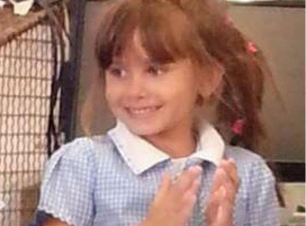 Katie Rough, aged seven, was killed in January 2017