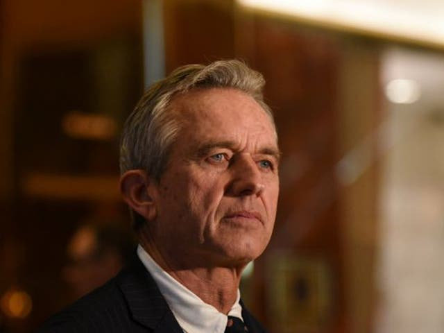 <p>Robert F Kennedy Jr is son of the assassinated senator and nephew of the assassinated president JFK</p>