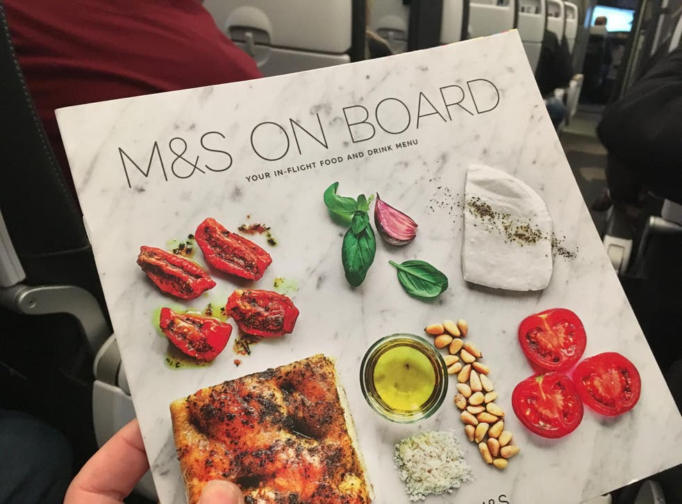Short haul, long menu: The new inflight catering menu on British Airways European flights