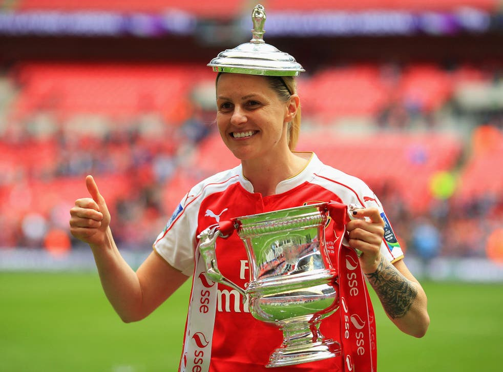 Kelly Smith has retired from women's football to take up a full-time coaching role with Arsenal Ladies