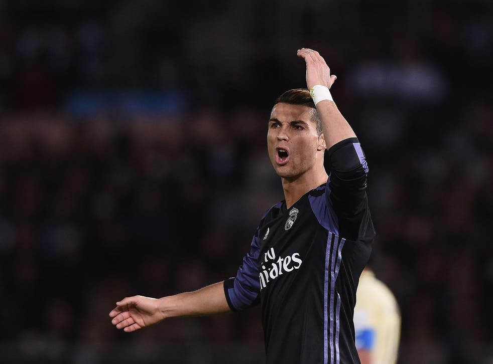 The Portuguese forward has scored 17 goals for Madrid this season