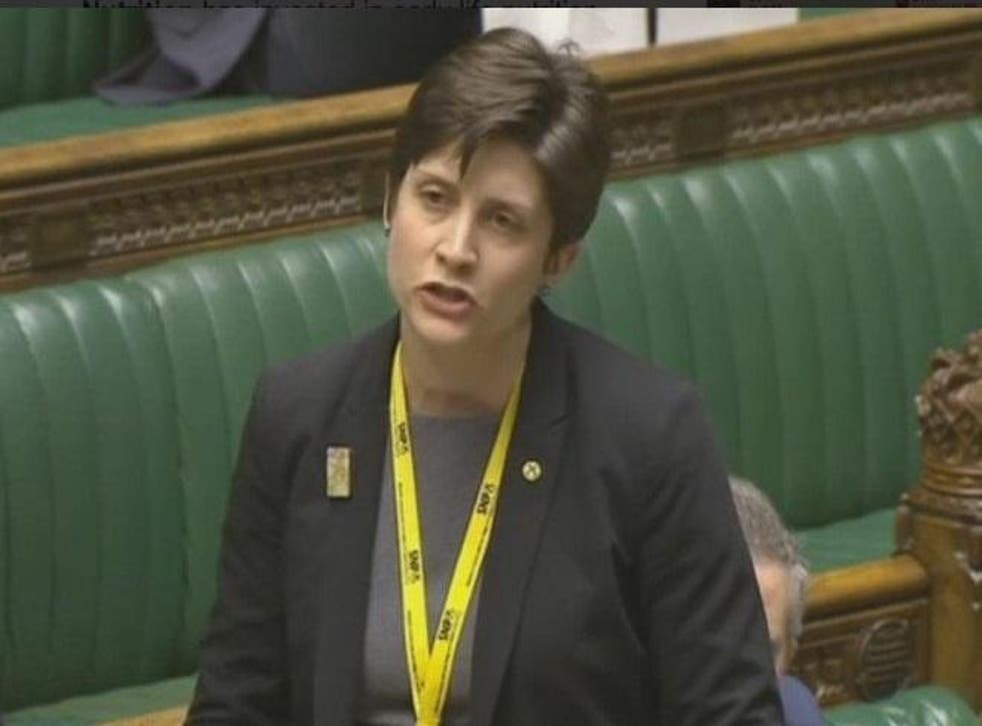 Alison Thewliss called on the government to allow asylum seekers to work