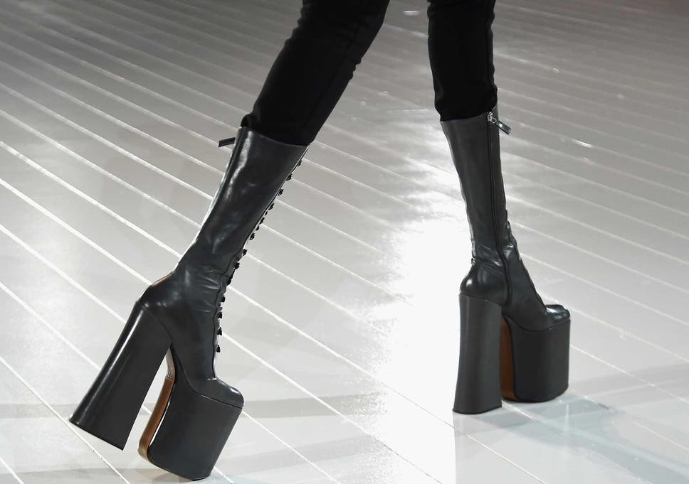 41082f83b906 Great heights  The rise of Bowie inspired glam-rock boots