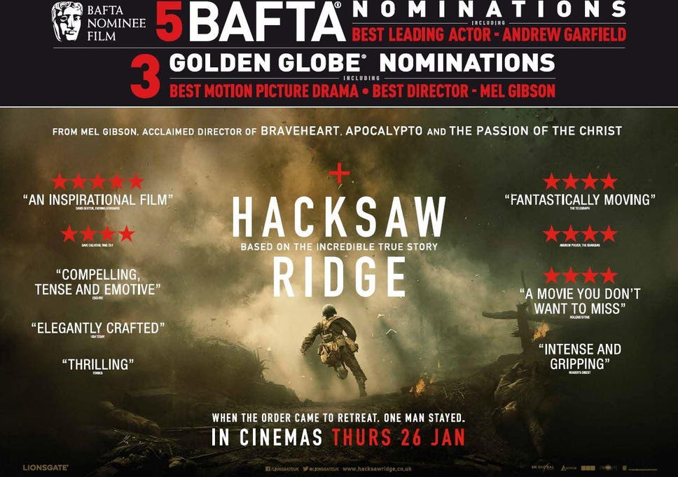 hacksaw ridge full movie free youtube