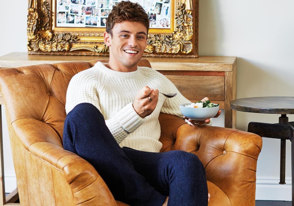Tom Daley discusses healthy living, diet mistakes and body