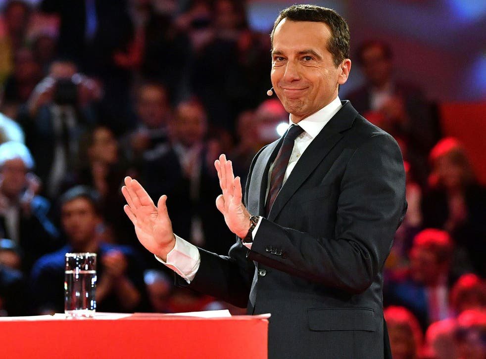 Allowing the UK to benefit from Brexit would be a 'capitulation by Europe', Christian Kern said