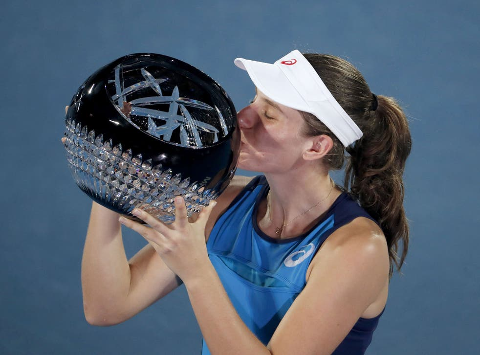 This was Konta's second title in her career