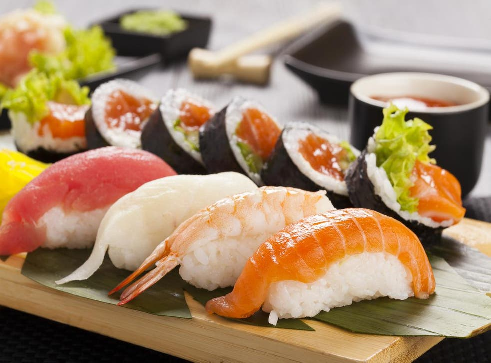 Japanese sushi has become an increasingly-popular lunch option in the UK