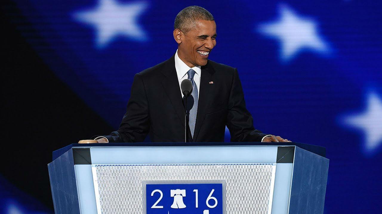 Barack Obama's 2016 speech to Democratic National Convention   The
