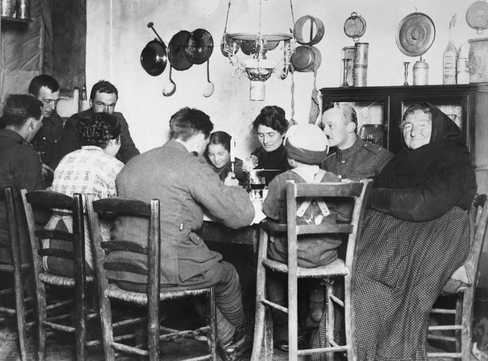 While British soldiers did not immediately take to pasta or gnocci, they were more readily converted to vino rosso