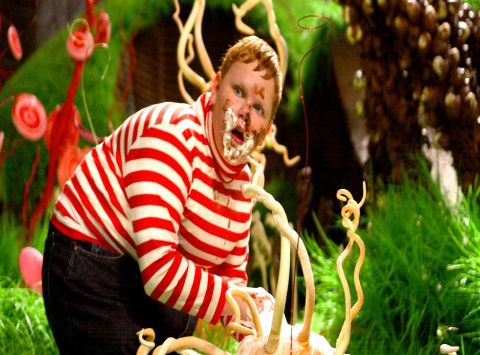 Augustus Gloop in Charlie and the Chocolate Factory