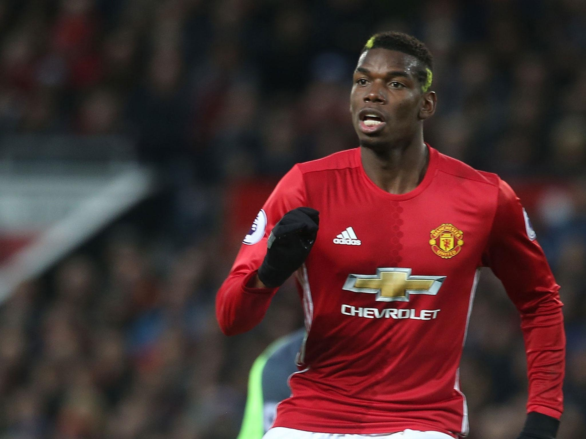 Paul Pogba: Manchester United Midfielder Paul Pogba Becomes First