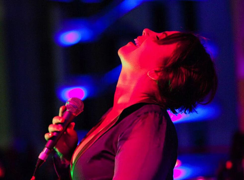 Charlotte Church performs at The Lexington in London