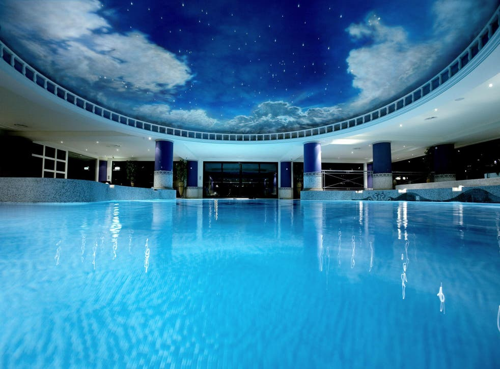 The Forum Spa at the Celtic Manor resort in Wales makes our list