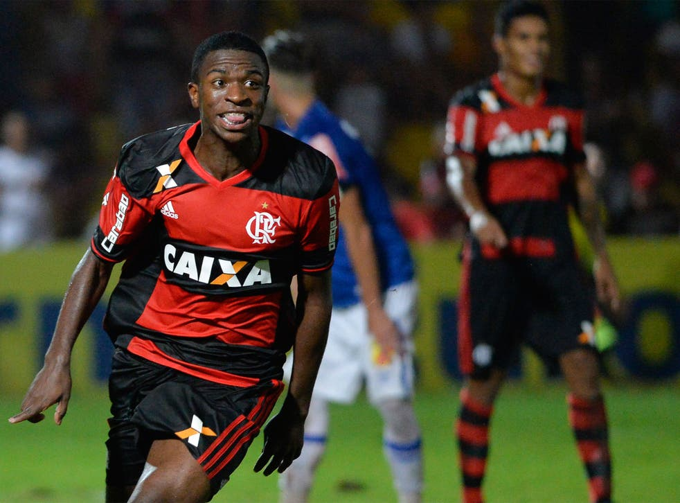 Vinicius Junior is one of Brazil's most highly-rated teenagers