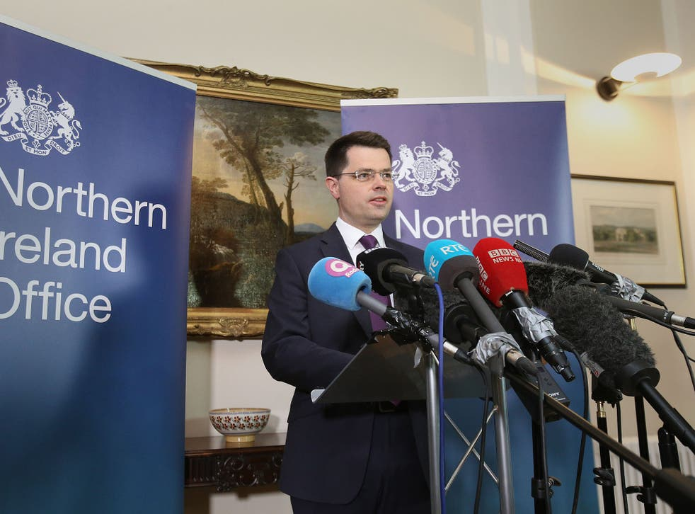 Northern Ireland Secretary James Brokenshire calls snap Stormont election for 2 March