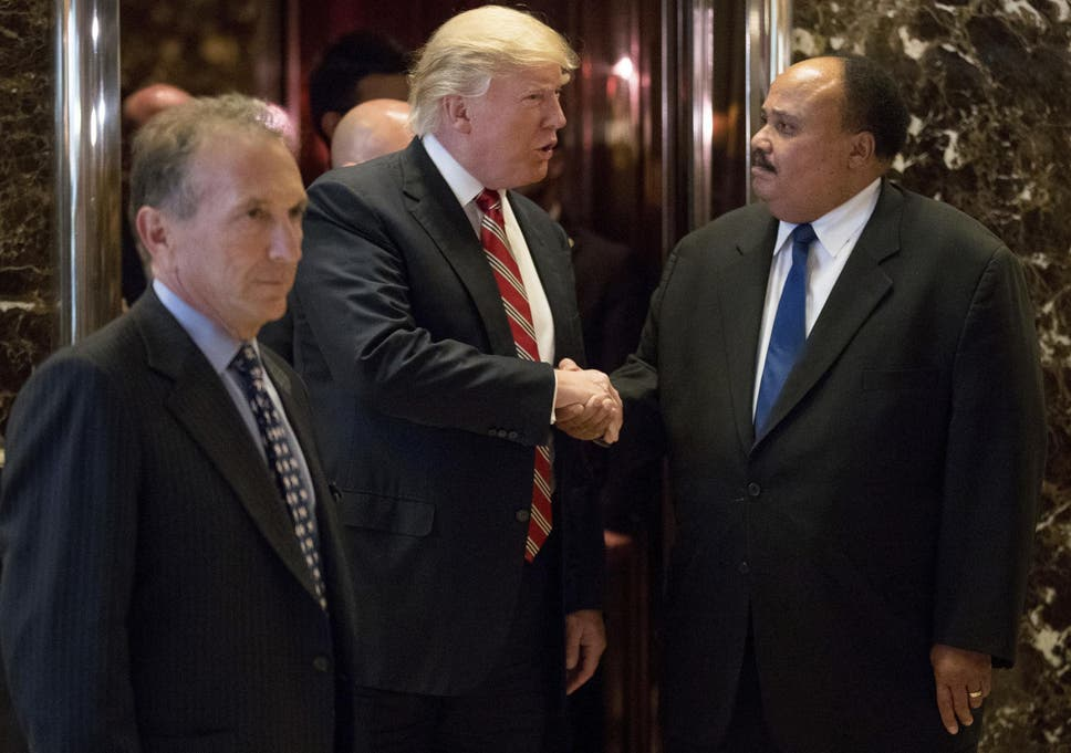 Donald Trump Meets With Martin Luther King Iii To Discuss Voting