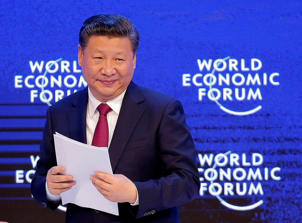 China's President Xi Jinping used his speech at the World Economic Forum to spurn protectionism